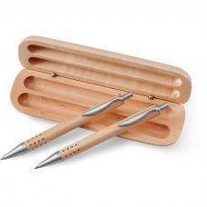 Conjunto caneta e lapiseira