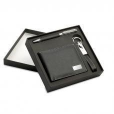 Set esferográfica-porta-chaves