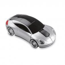 Mouse sem fios forma carro